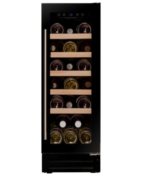 Vyno šaldytuvas Dunavox DX-19.58BK/DP