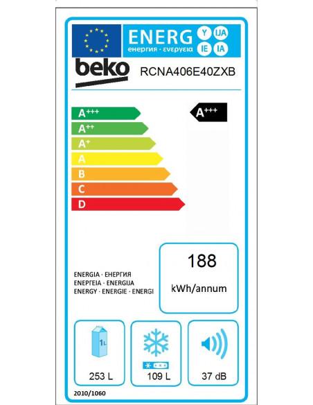 Šaldytuvas Beko RCNA406E40ZXB