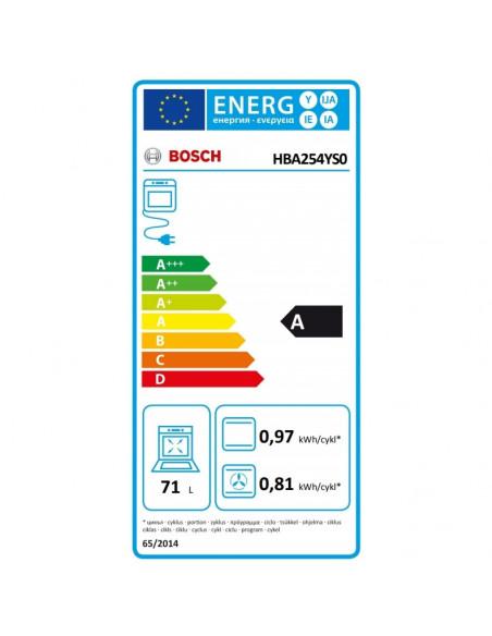Orkaitė Bosch HBA254YS0