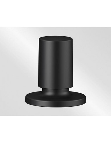 BLANCO Pop-up control round black matte
