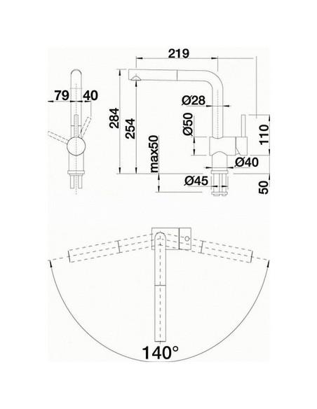 Maišytuvas BLANCO LINUS-S 516694