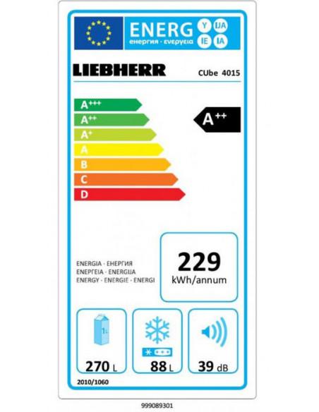 Šaldytuvas LIEBHERR CUbe 4015