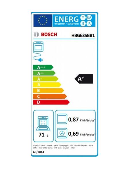Orkaitė Bosch HBG635BB1