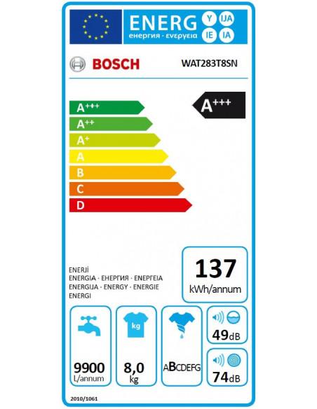 BOSCH WAT283T8SN buitex
