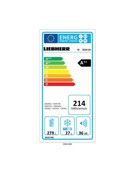 LIEBHERR IK 3524 Įmont. šaldytuvas