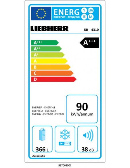 Šaldytuvas LIEBHERR KB 4310