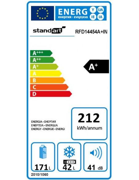 Šaldytuvas Standart RFF08454A+INCF