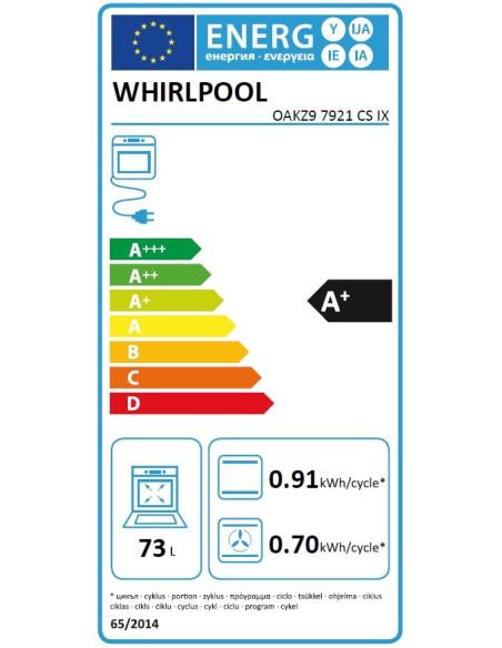 Whirlpool OAKZ9 7921 CS IX