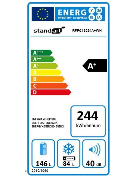 Šaldytuvas RFFC17054A+WH (STANDART)