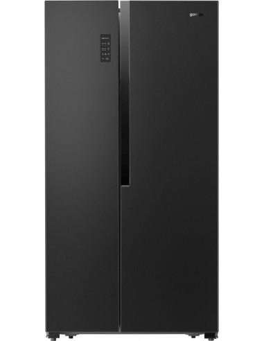 Dviduris šaldytuvas su šaldikliu Gorenje NRS9183MB Side-by-side
