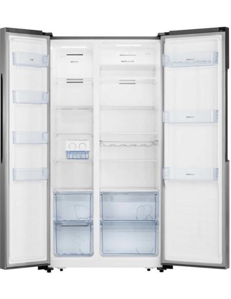 Dviduris šaldytuvas su šaldikliu Gorenje NRS9181MX Side-by-side