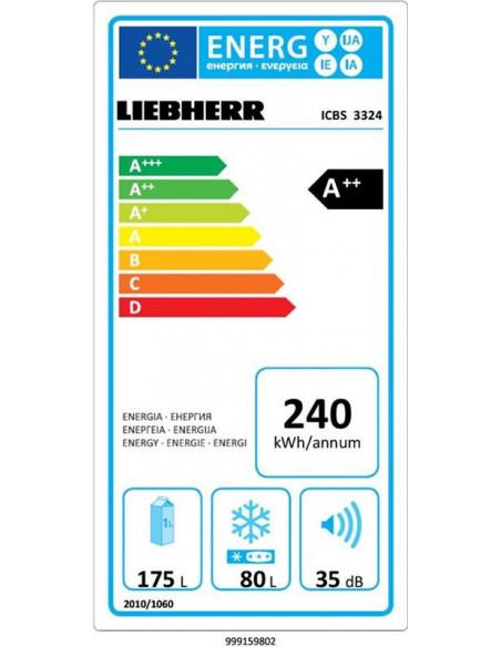 Įmontuojamas šaldytuvas LIEBHERR ICBS 3324