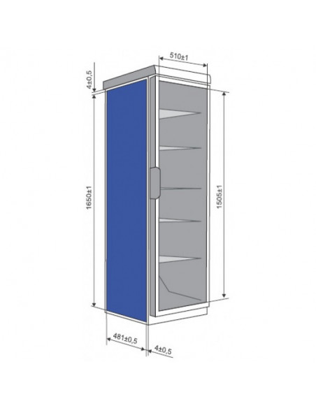 Šaldytuvas SNAIGE CD350-1003 (00SNW6)
