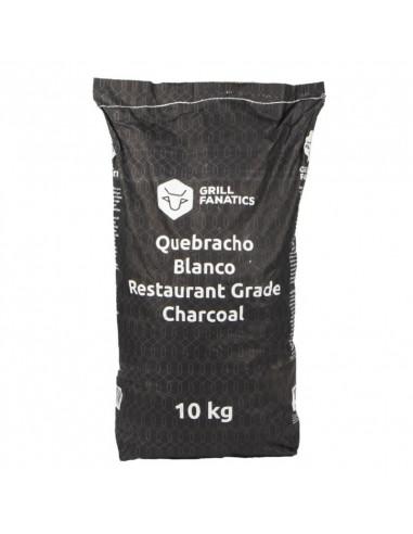 Profesionali medžio anglis RoosKCB Grill Fanatics White Quabracho, 10 kg