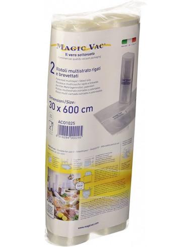 Vakuumavimo maišeliai Magic Vac ACO1025, 600x30 cm, 2 vnt.