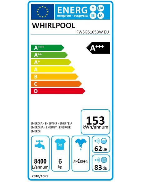 Whirlpool FWSG 61053W EU