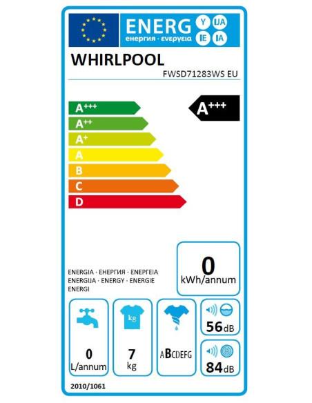 Whirlpool FWSD 71283WS EU