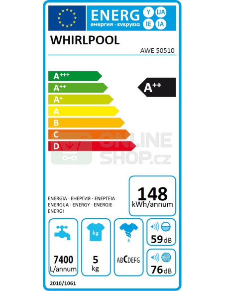 Whirlpool AWE50510