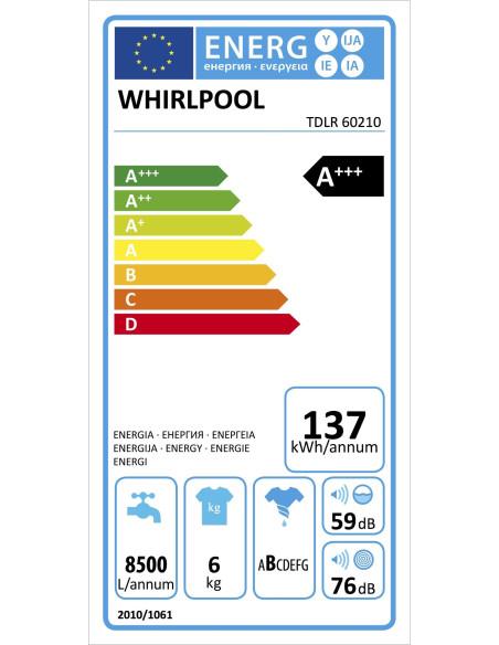 WHIRLPOOL TDLR 60210