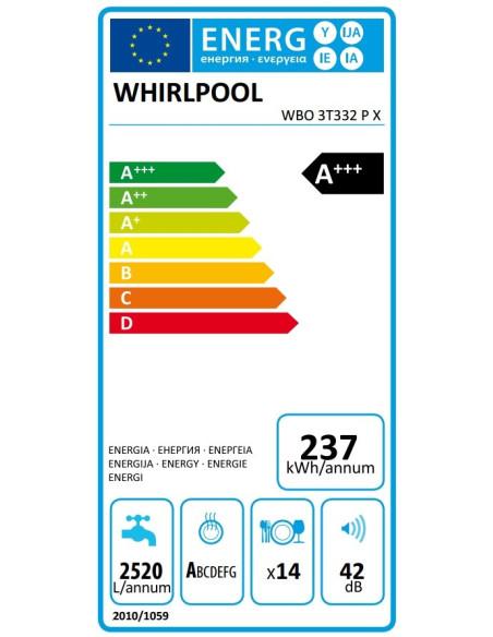 Whirlpool WBO 3T332 P X
