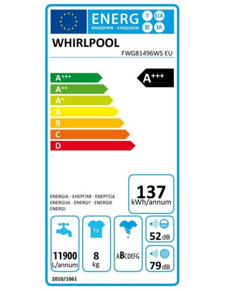 WHIRLPOOL FWG 91484W EU