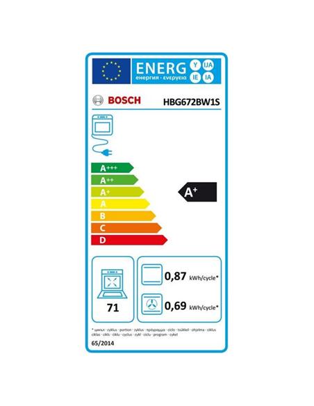 Orkaitė Bosch HBG672BW1S