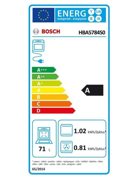 Orkaitė Bosch HBA5784S0