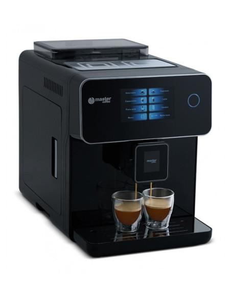 Automatinis kavos aparatas Master Coffee MC10BL su liečiamuoju ekranu, juodas