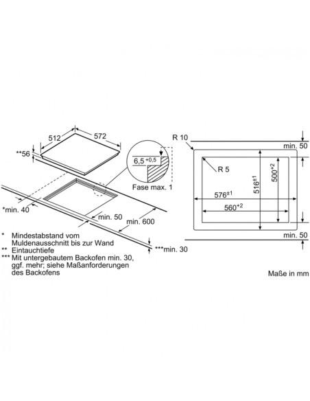 Kaitlentė Bosch PXY601DW4E