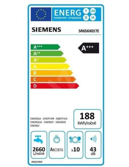 Indaplovė Siemens SR656X01TE