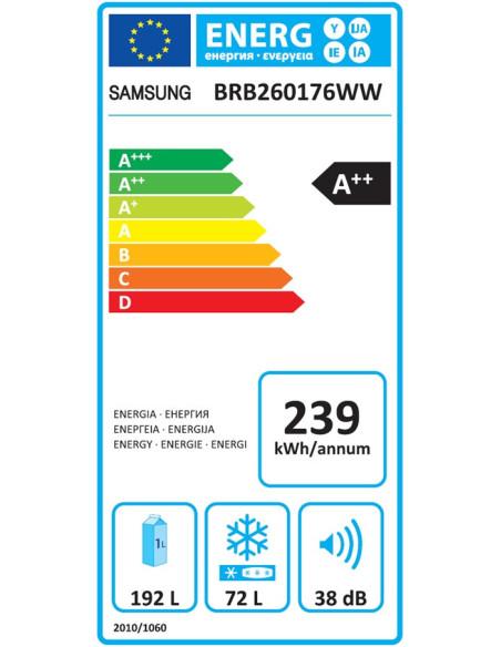 Šaldytuvas SAMSUNG BRB260176WW