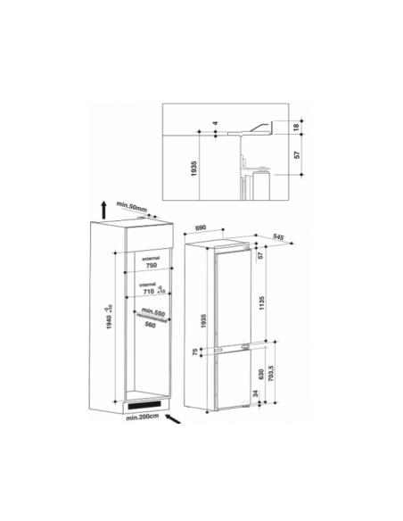 Šaldytuvas Whirlpool SP40 802
